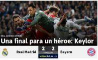 """""""Campionii sunt in finala dupa ce au suferit ca niciodata!"""" / """"BLACK-OUT"""" Reactiile din presa dupa ce Real Madrid s-a calificat in finala Ligii"""