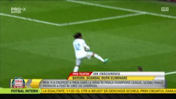 """""""Probabil arbitrul n-a vrut sa vada! N-ai ce sa mai spui!"""" Verdictul lui Ion Craciunescu dupa cele 2 penalty-uri cerute de Bayern cu Real"""