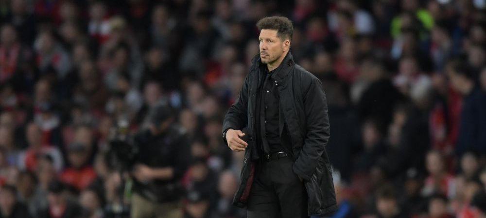 "ATLETICO - ARSENAL, JOI ORA 22.00 LA PRO X // Decizia SOC a lui Simeone a fost dezvaluita chiar de un jucator de la Atletico: ""Ne-a spus ca asta se va intampla!"""