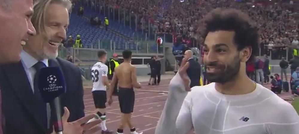 """""""Esti favorit la Balonul de Aur, ce parere ai?"""" Reactia FABULOASA a lui Salah dupa calificarea in finala"""