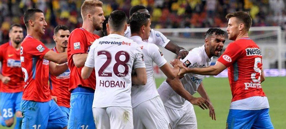 """Parca au minge de rugby, mai bine ma uit la Romanii au Talent!"" CFR si Steaua, facute PRAF dupa derby"