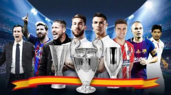 Spania e EUROPA! Recordul incredibil stabilit de echipele spaniole in cupele europene in ultima decada