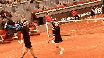 """Simona Halep a pierdut DOUA meciuri intr-o seara la Madrid! A facut pereche cu un jucator urias: """"E grozav!"""""""