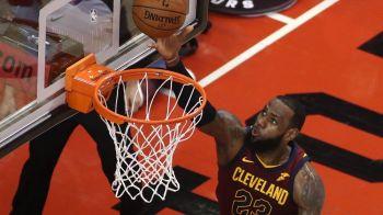 Stapanul inelului! LeBron a mai batut un record in NBA si Cleveland e aproape de finala Conferintei de Est