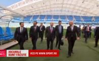 Putin a facut ultima inspectie inaintea Mondialului alaturi de seful FIFA! Cum arata arena care va gazdui primul derby, Spania - Portugalia