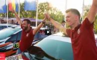 CFR vrea titlul si la raliuri! Clujenii au un bolid la campionatul de raliuri VIDEO