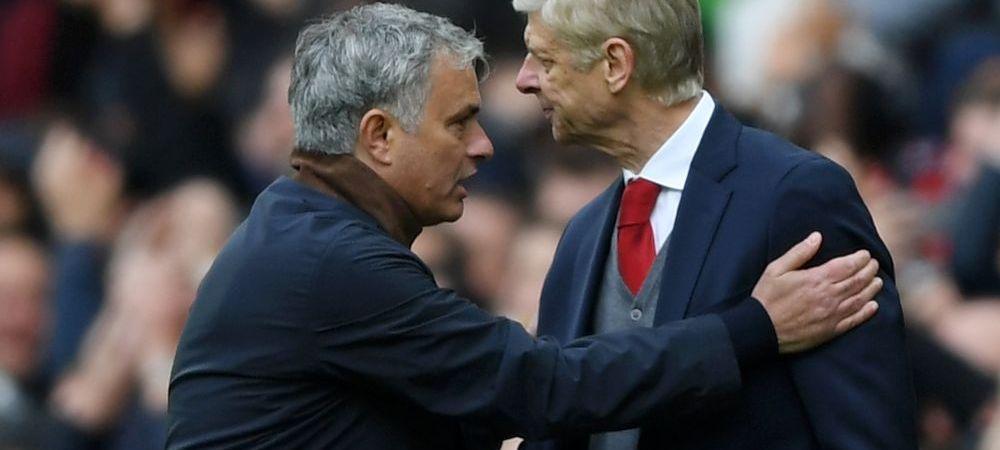 """Propunerea facuta de Mourinho pentru inlocuirea lui Wenger pe banca lui Arsenal: """"Este un om fantastic! Daca i s-ar oferi sansa, as fi tare fericit"""""""
