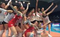 Ce performanta! Volei Alba Blaj s-a calificat in finala Ligii Campionilor, dupa ce a invins-o pe Galatasaray // VIDEO cu bucuria nebuna de la final
