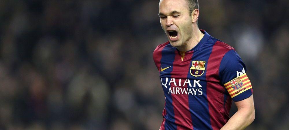 """Ultimul """"El Clasico"""" pentru Iniesta! Real, singura echipa care poate strica un RECORD ISTORIC pentru Barca! / Barcelona - Real Madrid, ora 21:45"""