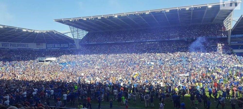Imagini fabuloase! Fanii au invatat terenul pentru a celebra promovarea de 100.000.000 lire! Se stie a doua echipa care va juca in Premier League in sezonul viitor