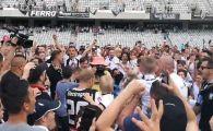 Sa cante trompetele! U Cluj scapa de cosmarul ligii a treia! Clujenii au promovat matematic dupa victoria de azi, fanii au invadat terenul
