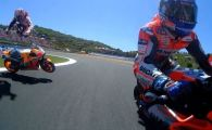 VIDEO | Marquez a castigat MP al Spaniei la MOTO GP, Lorenzo a provocat un accident teribil, in care au mai fost implicati Pedrosa si Dovizioso