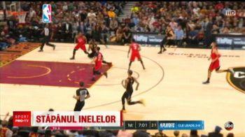 LeBron James, cosul victoriei in ultima secunda! Cleveland conduce cu 3-0 la general in semifinalele conferintei de Est