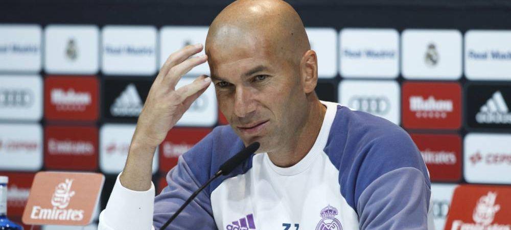 Zidane a asteptat 5 minute pe tunel pentru ca un jucator al Barcelonei sa vina! Gestul SUPERB al francezului. FOTO