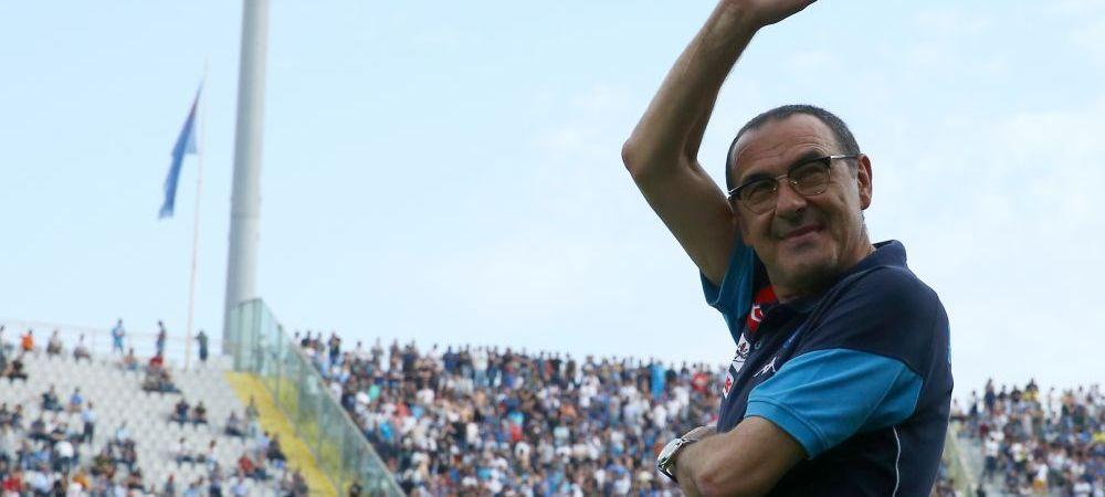 """GAME OVER pentru Napoli! Sarri este gata sa plece dupa titlul ratat dramatic: """"Mai bine acum cat e dragoste reciproca!"""""""