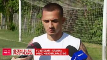 """Oltenii nu s-au calificat inca in finala Cupei, dar viseaza deja la Supercupa de la Craiova: """"O sa jucam acasa, asta e un lucru bun"""""""