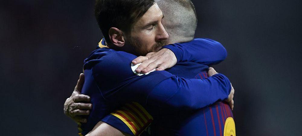 S-a aflat! Dezvaluirea facuta la 2 zile dupa ce s-a terminat El Clasico! Ce i-a spus Iniesta lui Messi cand a fost inlocuit