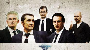 Analiza tactica | Cei 5 campioni: Guardiola, Valverde, Allegri, Heynckes, Emery! Cine s-a descurcat mai bine?