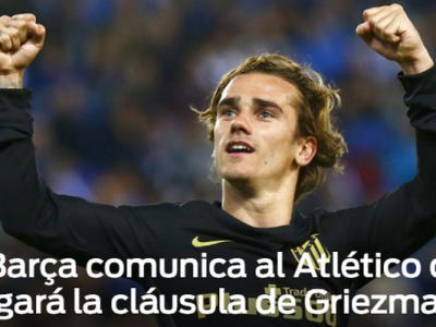 """""""Barcelona a anuntat-o pe Atletico ca plateste clauza lui Griezmann"""". Transfer urias"""