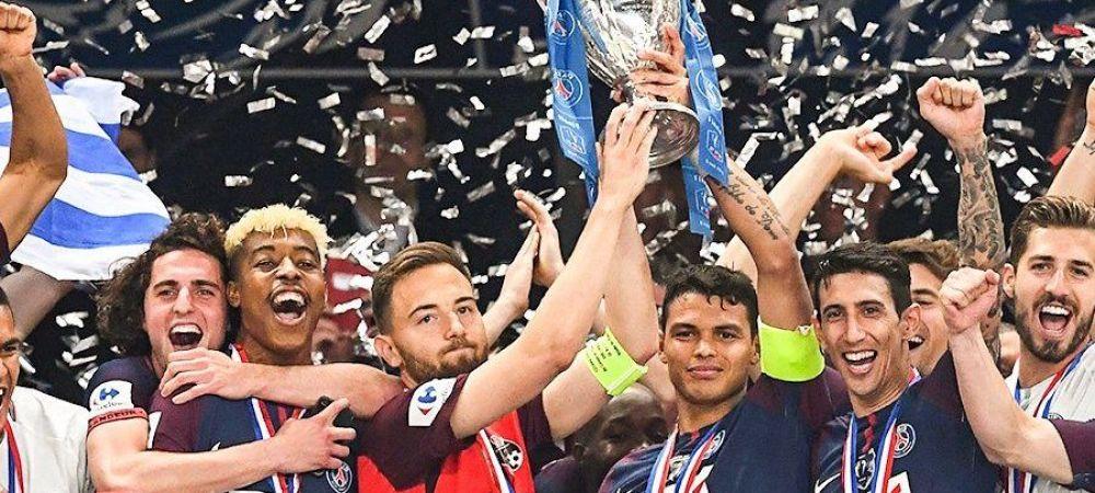 Gestul SENZATIONAL al jucatorilor de la PSG dupa FINALA cu Herbiers! Tot stadionul a aplaudat