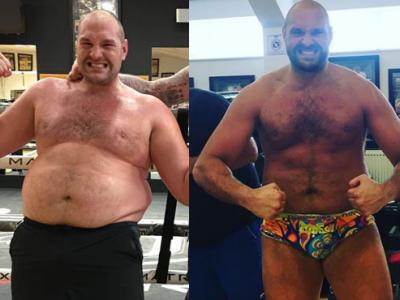 """Secretul cu care Tyson Fury a slabit 40kg pentru meci! """"Am baut cate o cana in fiecare zi"""""""