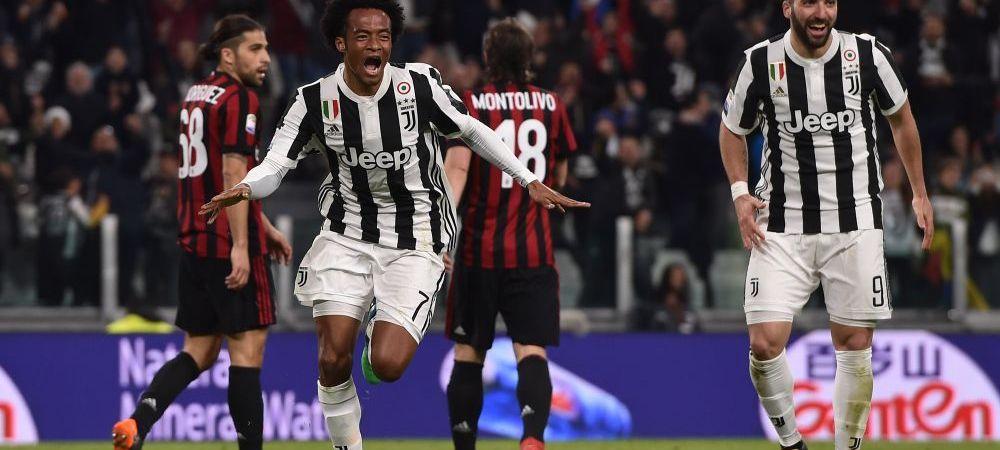Poate DonnaGLUMA! Juventus o umileste pe Milan in finala Cupei, dupa ce ii da 4 goluri in repriza a doua | Sevilla 3-2 Real, Barca 5-1 Villarreal