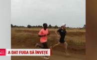 Primul maratonist roman care a alergat la Olimpiada dupa 48 de ani de pauza, antrenamente printre lei, in Kenya: VIDEO