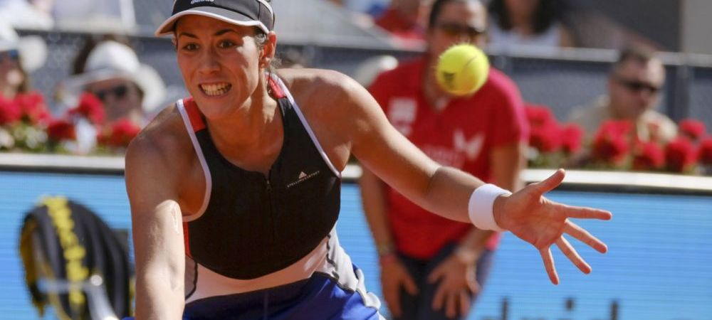 Muguruza, OUT de la Madrid in optimi! Cum a reactionat dupa ce a ratat sansa de a se apropia de Simona