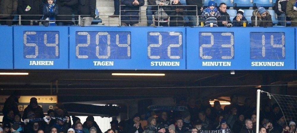 Se opreste ceasul in Hamburg? Nemtii, ca si retrogradati din Bundesliga