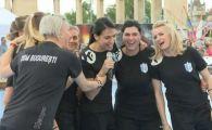 """VIDEO Romania danseaza, Romania se distreaza la Budapesta :) Fetele de la CSM au cantat """"Dragostea din tei"""" inainte de Final Four-ul Ligii Campionilor"""
