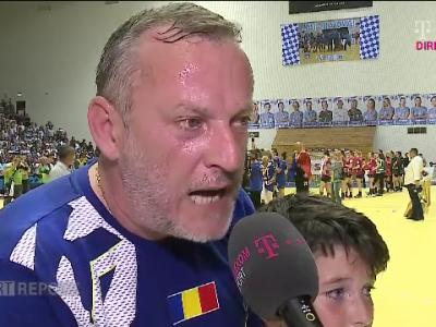"""""""Nici nu visam la acest trofeu! Inseamna ENORM pentru Romania!"""" Reactia antrenorului celor de la SCM Craiova dupa castigarea Cupei EHF"""
