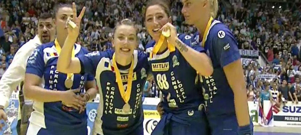 """'Sportul romanesc revine la viata. Nu se stie de unde, nu se stie cum!"""" Ce a impins-o pe Craiova spre victoria URIASA din Cupa EHF"""
