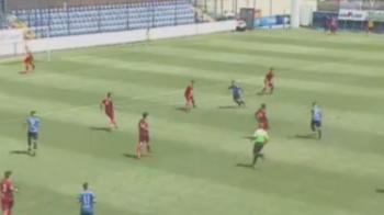 A marcat ca HAGI! Gol senzational pentru un pusti contra CFR-ului. VIDEO: cum a inscris