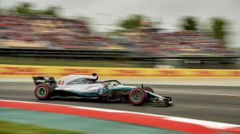 Hamilton pleaca din pole position la Marele Premiu al Spaniei! Pilotii Mercedes, peste cei de la Ferrari