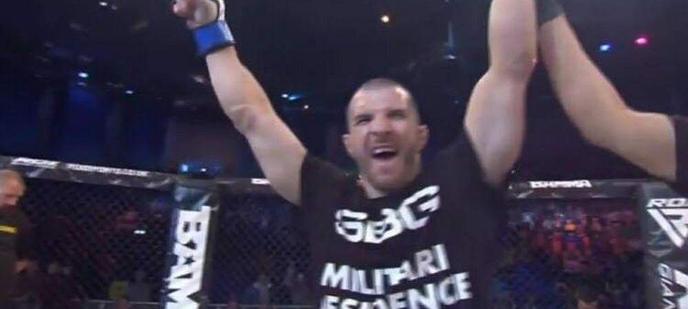 Victorie uriasa pentru MMA-ul din Romania! Bombardierul Pascu a devenit challenger obligatoriu la o centura importanta