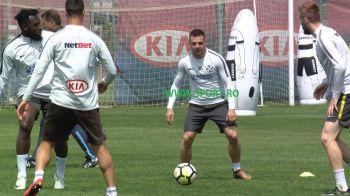 Aparitie surpriza la antrenamentul FCSB! Adi Popa se antreneaza sub comanda lui Dica! FOTO