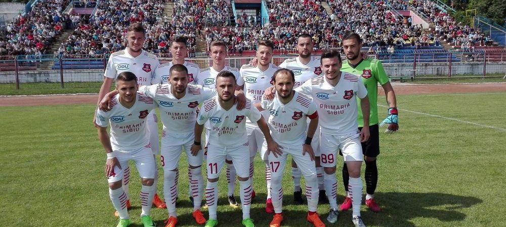 Hermannstadt, promovata matematic in Liga I! Sibienii vor juca si finala Cupei, 27 mai, PROX!