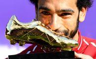 Mo Salah a primit Gheata de Aur din Premier League si a batut recordul istoric! Moment incredibil pe Anfield dupa ce a primit trofeul! VIDEO