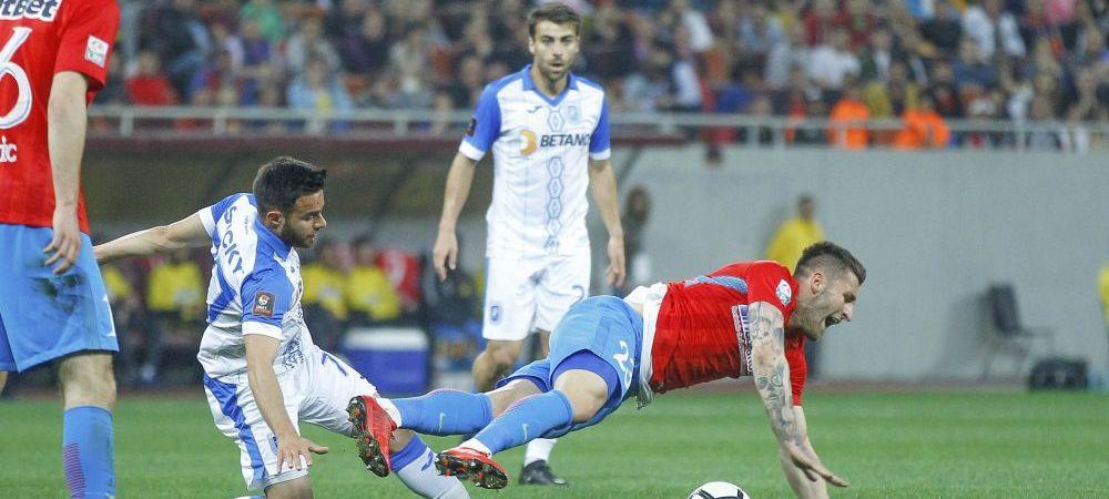 Craiova - FCSB, ora 20:45! Meciul care poate decide titlul! 50.000 de oameni prezenti la ultima victorie a Craiovei in fata stelistilor! Meciul dupa care Olaroiu a fost dat afara de la Steaua