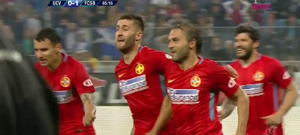 CSU CRAIOVA 0-1 FCSB | Titlul se joaca in ultima etapa! Teixeira, din nou erou pe final! VEZI TOATE FAZELE