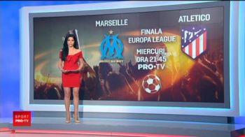 Atletico - Marseille, miercuri, 21:45, PROTV | Atletico, dupa 32 de ani in finala la Lyon! Spaniolii au fost umiliti de Dinamo Kiev