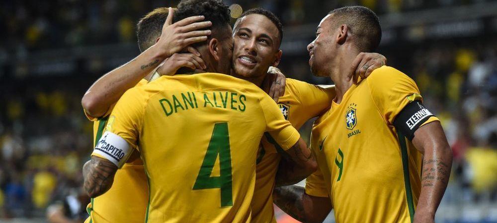 Brazilia a anuntat LOTUL pentru Campionatul Mondial din Rusia! Care e marea surpriza a lui Tite si cine ii ia locul lui Dani Alves
