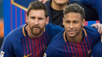 Prima reactie a lui Messi dupa ce a fost intrebat de plecarea lui Neymar la Real