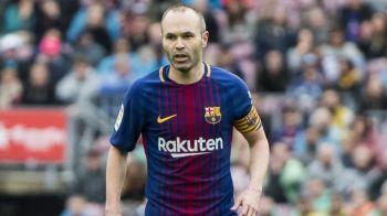 Barcelona pregateste un moment special pentru magicianul sau. Catalanii il vor omagia pe Iniesta la ultimul sau meci pe Camp Nou