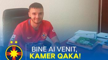 Qaka a trecut testele dupa a doua incercare si a semnat cu Steaua! CLAUZA 20 de milioane! Ce salariu ii da Becali