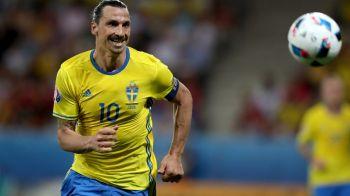 Campionat Mondial FARA Zlatan! Suedia a anuntat lotul pentru turneul final din Rusia! Eroul de la barajul cu Italia lipseste si el
