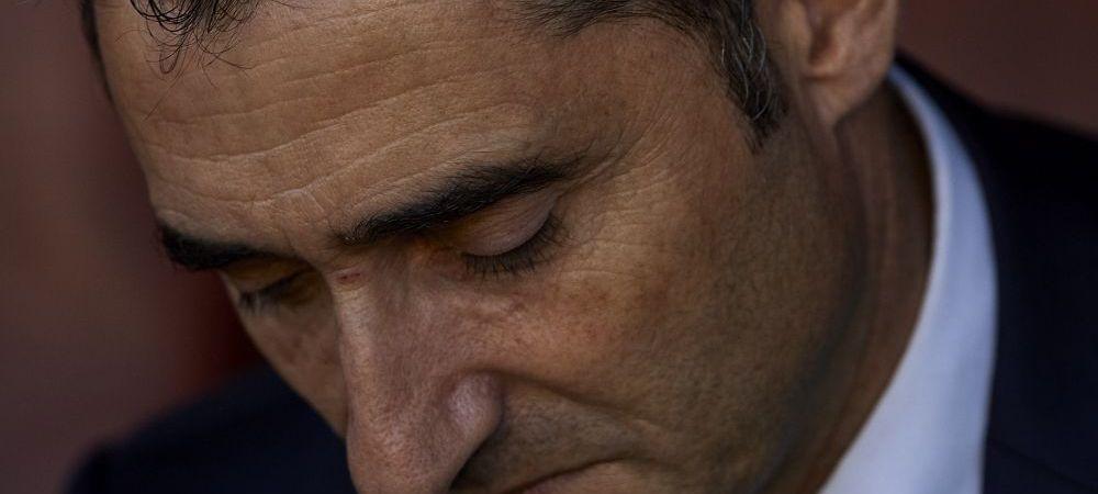 Verdictul conducerii Barcelonei dupa primul sezon al lui Valverde! Ce a anuntat presedintele clubului