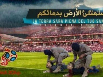 Socant! Teroristii ISIS ameninta Mondialul din Rusia cu atentate sangeroase. Postere de propaganda cu executiile lui Messi si Ronaldo