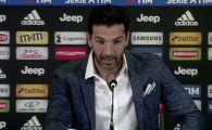 "Buffon pleaca de la Juventus dupa 17 ani! ""Am cateva oferte interesante!"""