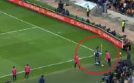 Filmulet de speriat suporterii Barcelonei! Cum a putut sa joace Yerri Mina aceasta faza, arbitrul s-a prabusit de ras :) VIDEO